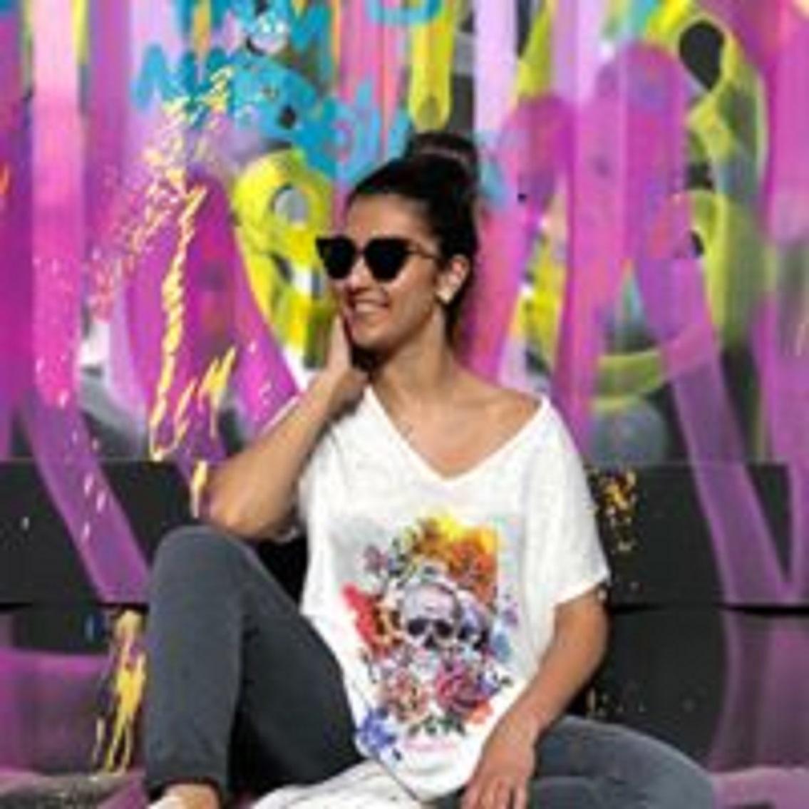 T-shirt BOLZANO blanc - Banditas