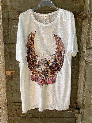 T-shirt LEONARD blanc- Banditas