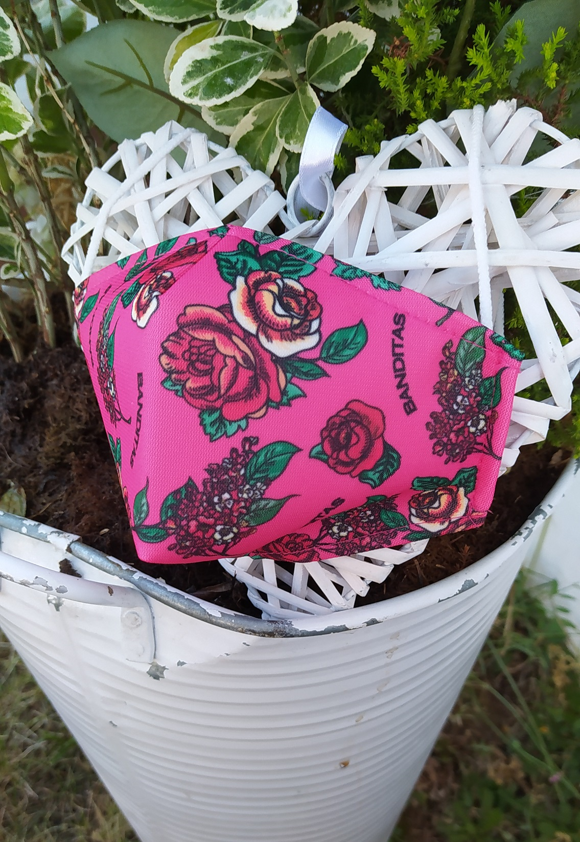 Masque ROSE Banditas