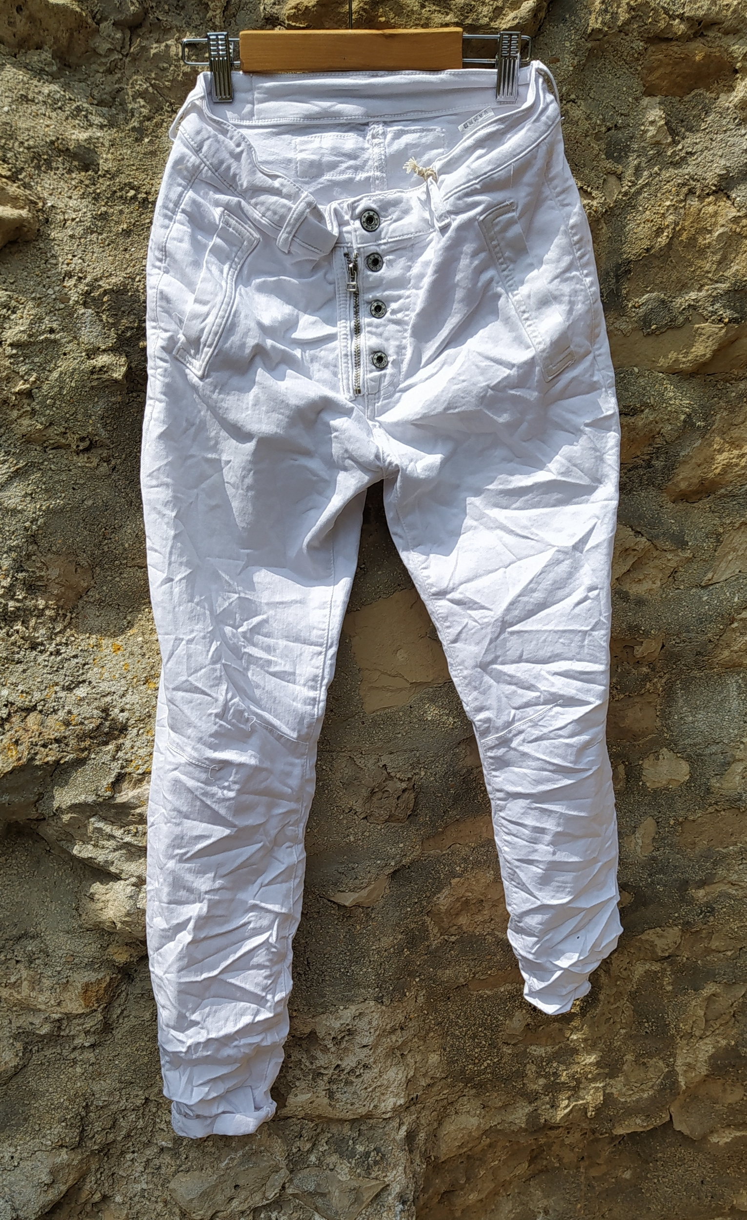 Pantalon MELLY Blanc - MELLY & CO