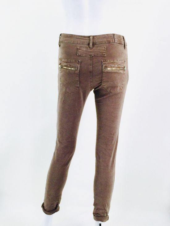 Pantalon MELLY Taupe - MELLY & CO