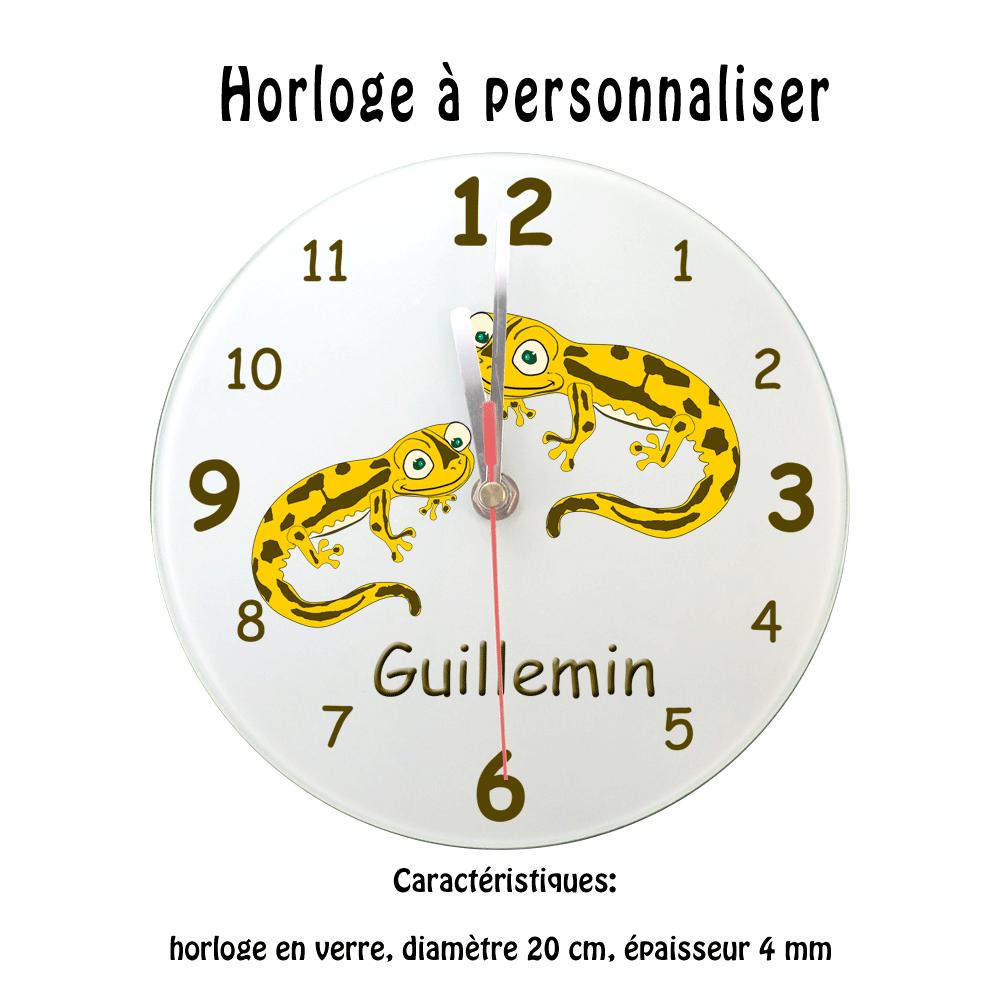 Horloge Salamandre