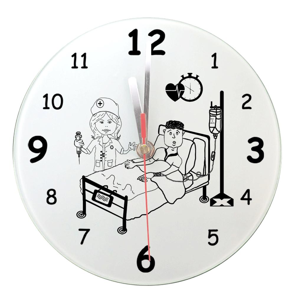 texti;cadeaux;horloge;personnalisable;personnalisation;personnalise;infirmiere;medical;hopital;png