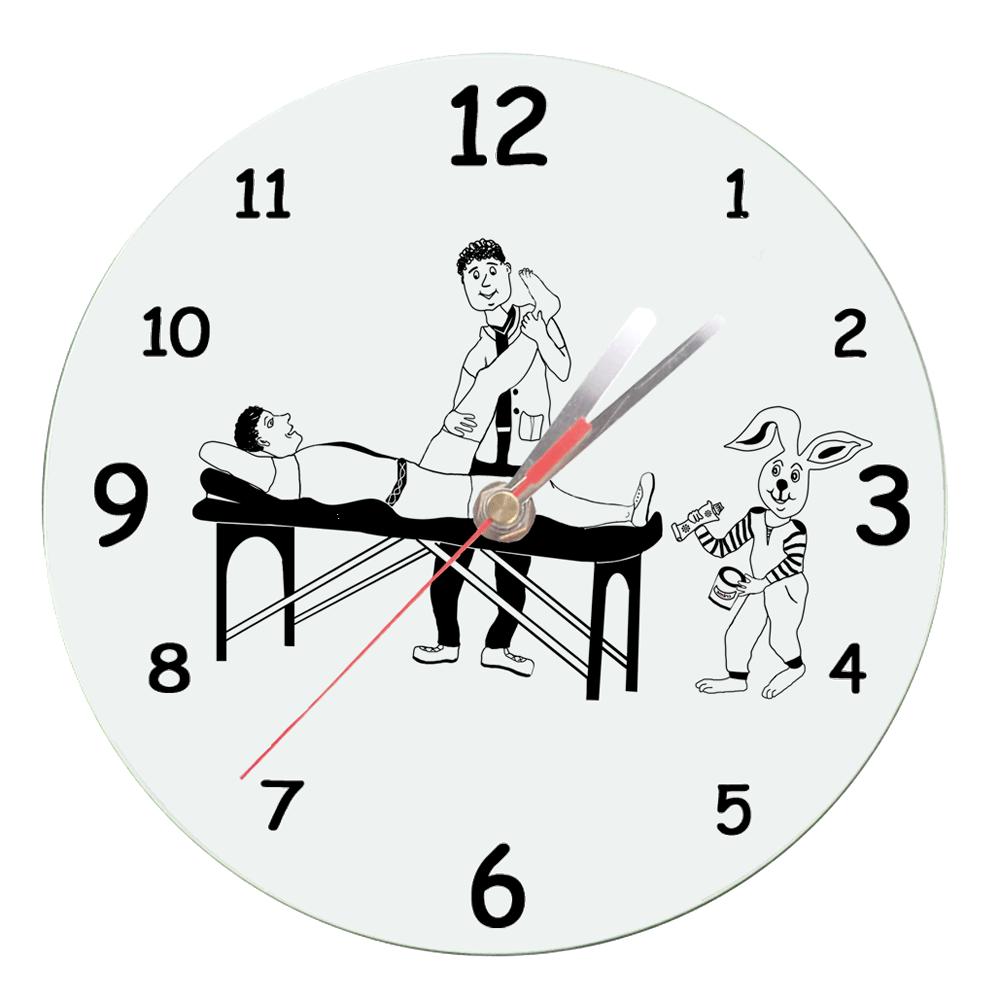 Horloge Kinésithérapeute