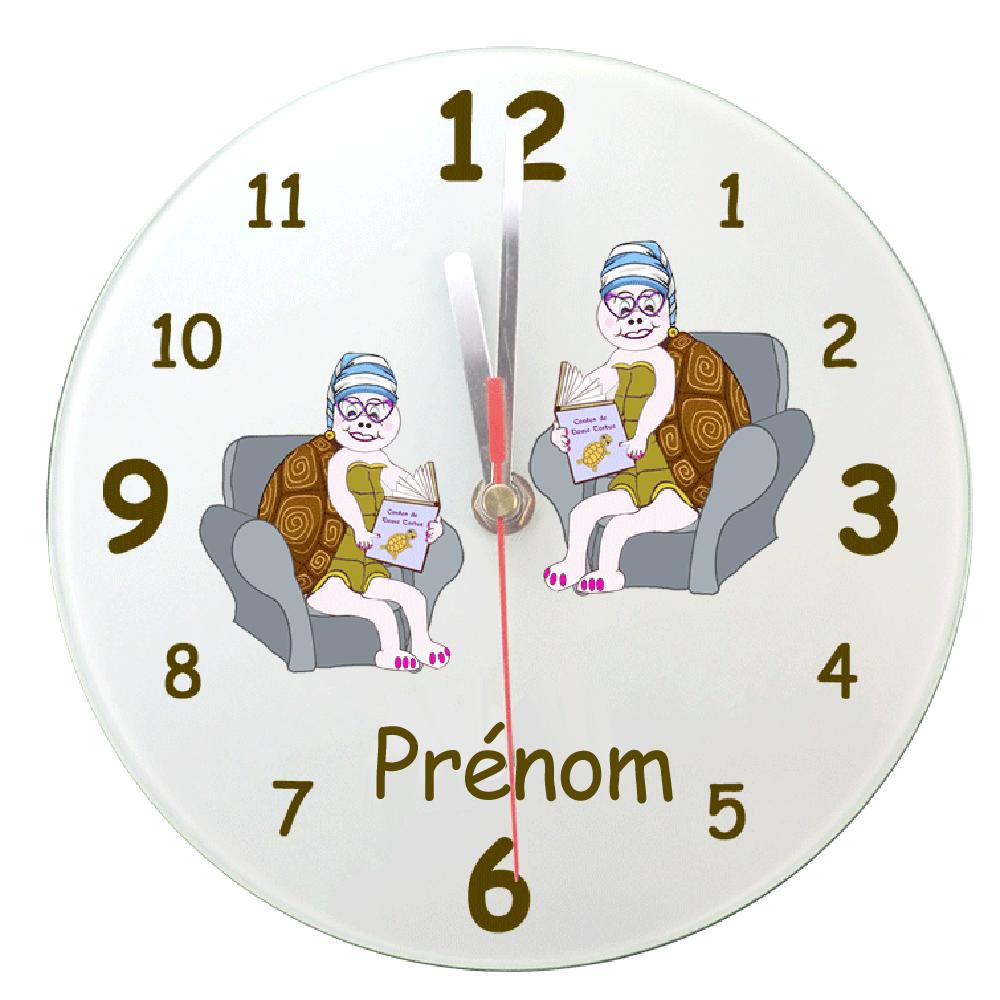 Horloge Tortue avec son Bonnet
