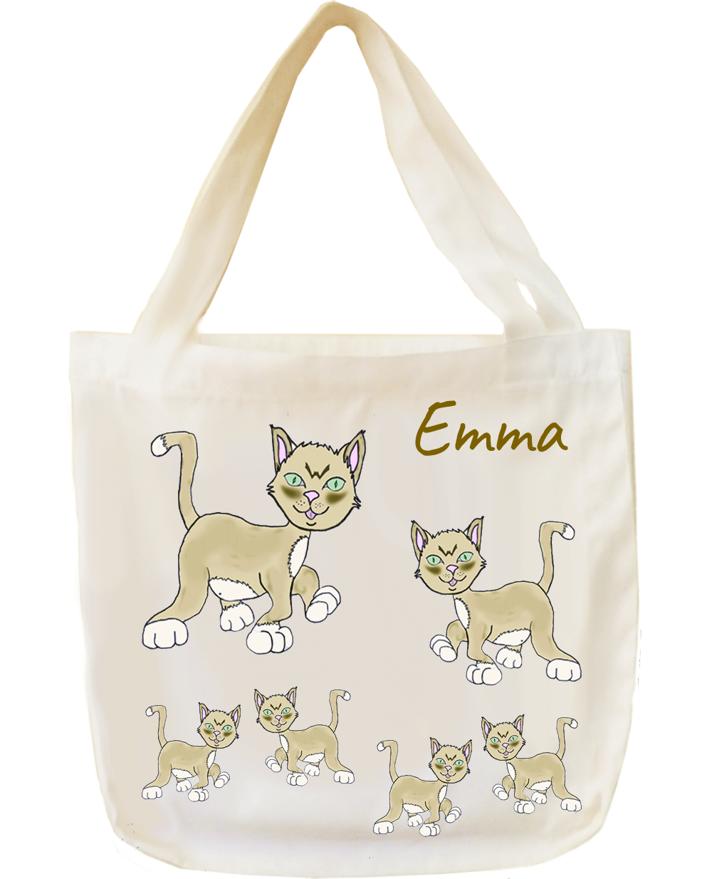 Tote Bag, Chat Emma
