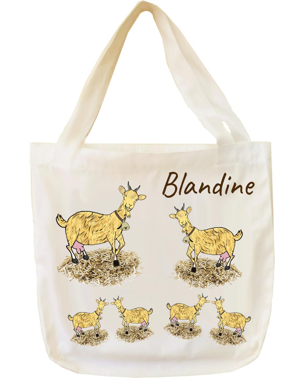 Tote Bags Chèvre