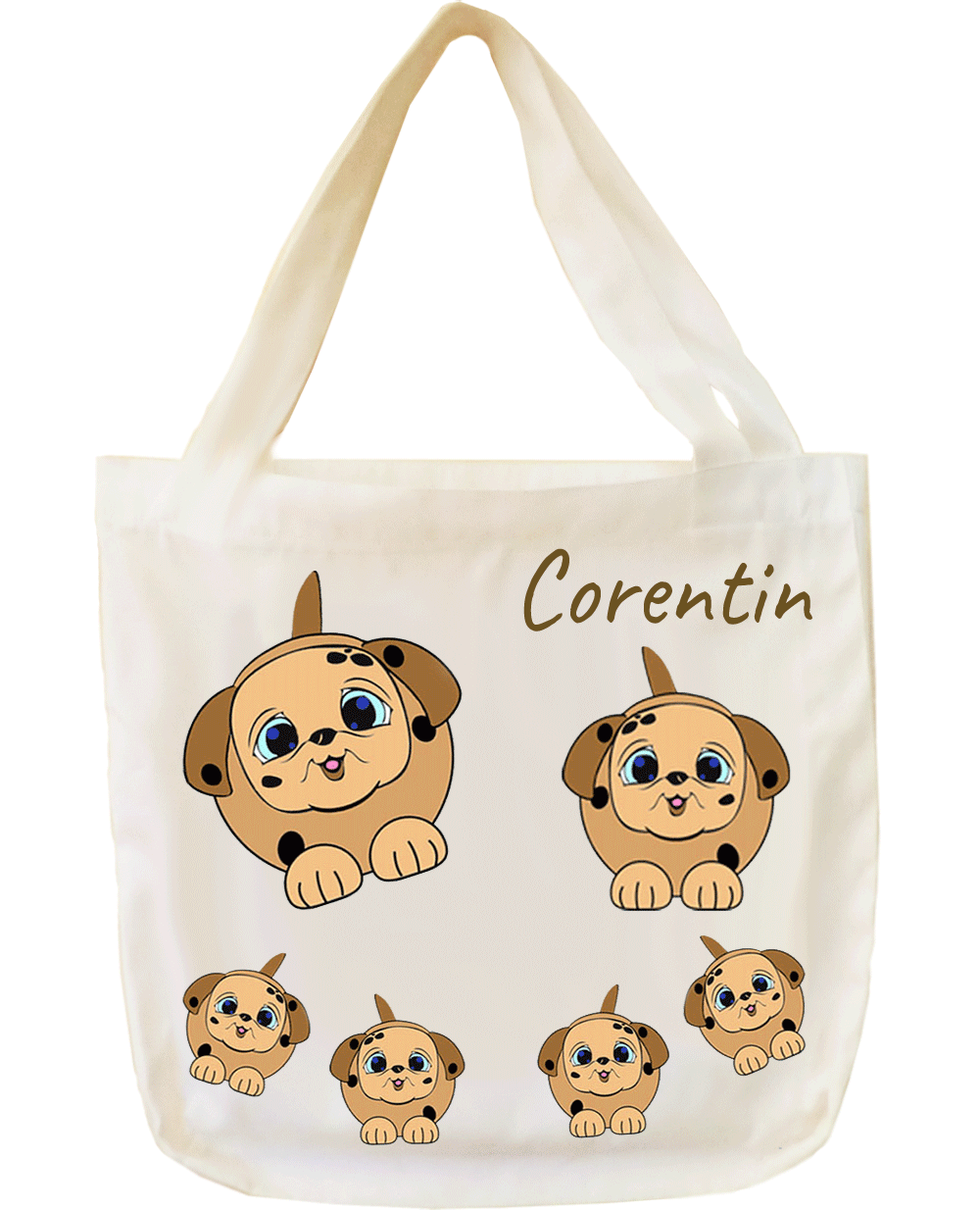 Tote Bags Chien