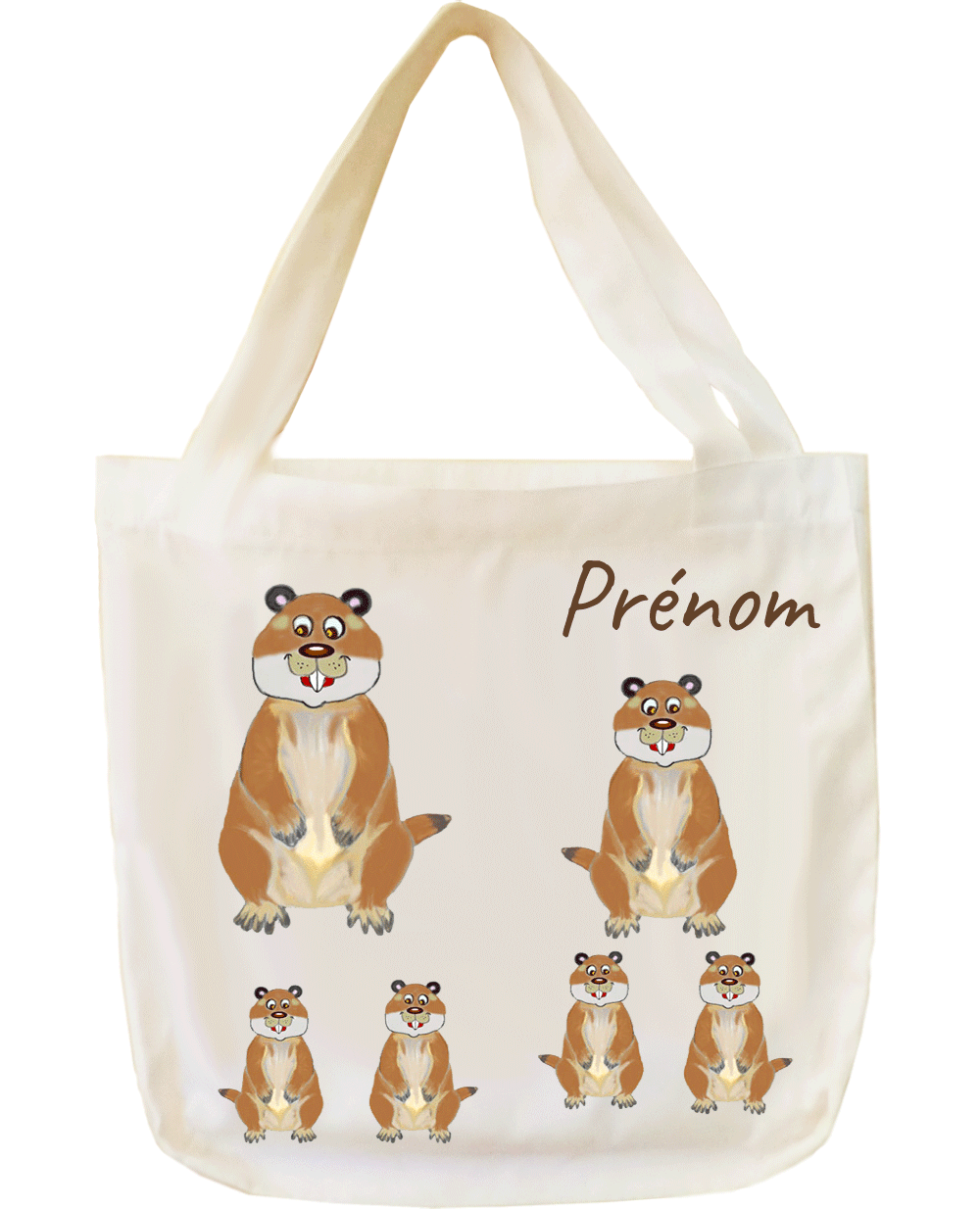 Tote bags marmotte