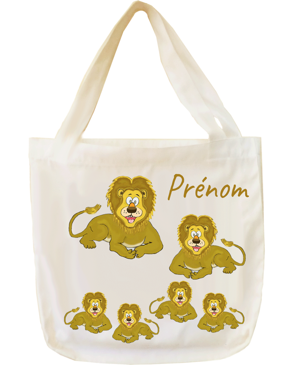 Tote bags lion