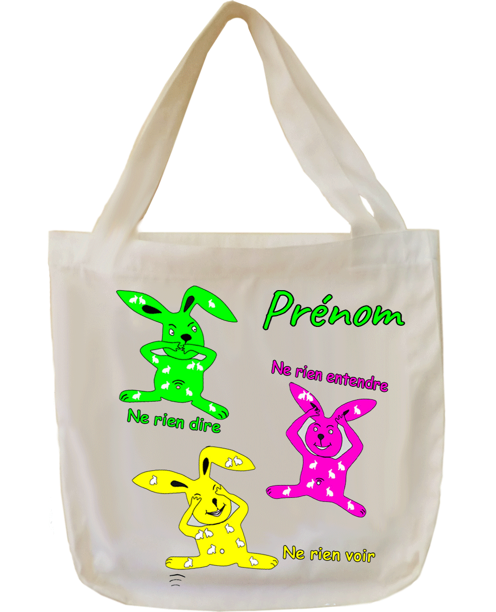 Tote Bags Les trois Lapins