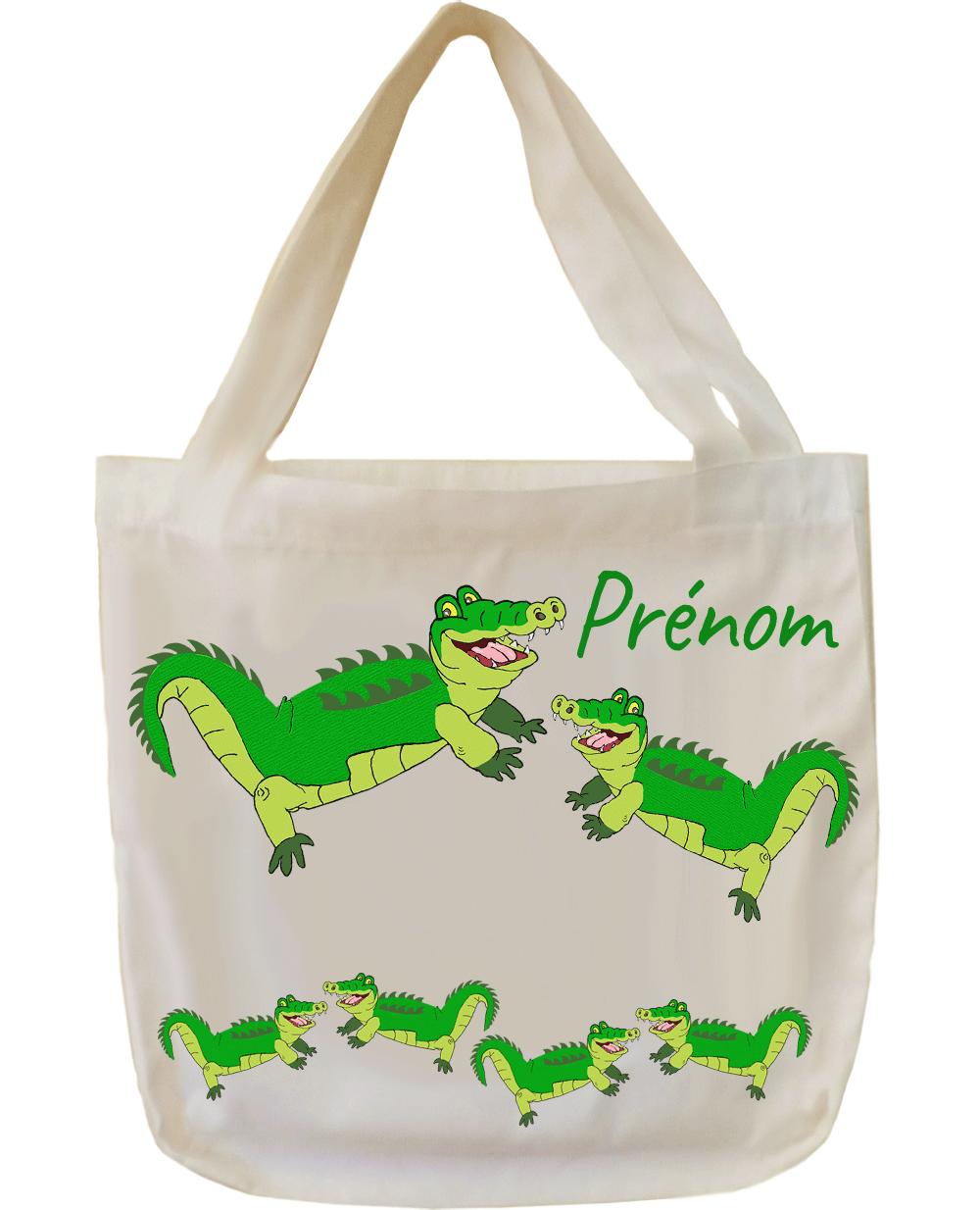Tote Bags Crocodile