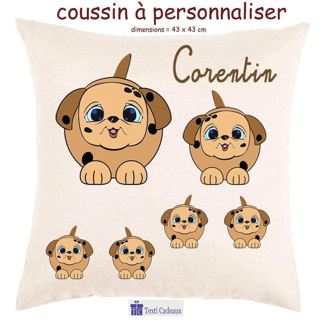 Coussin Chien