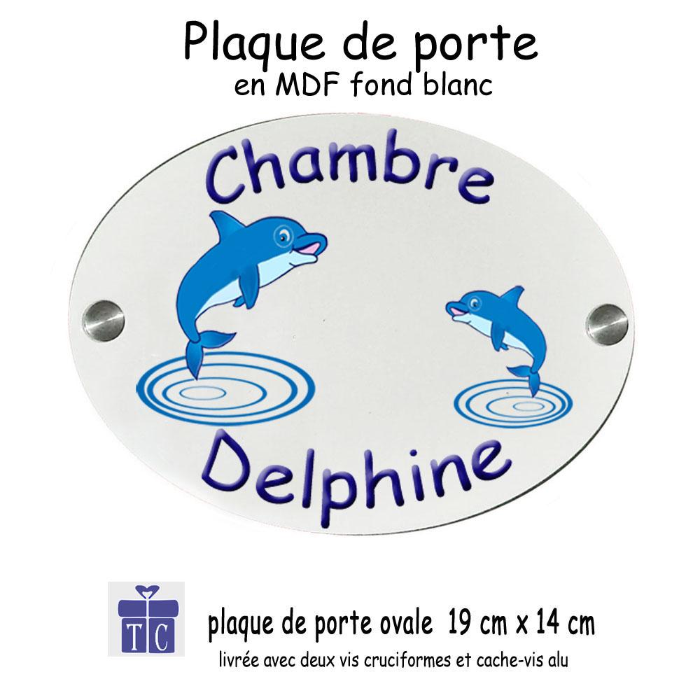 Plaque de Porte Dauphin à personnaliser
