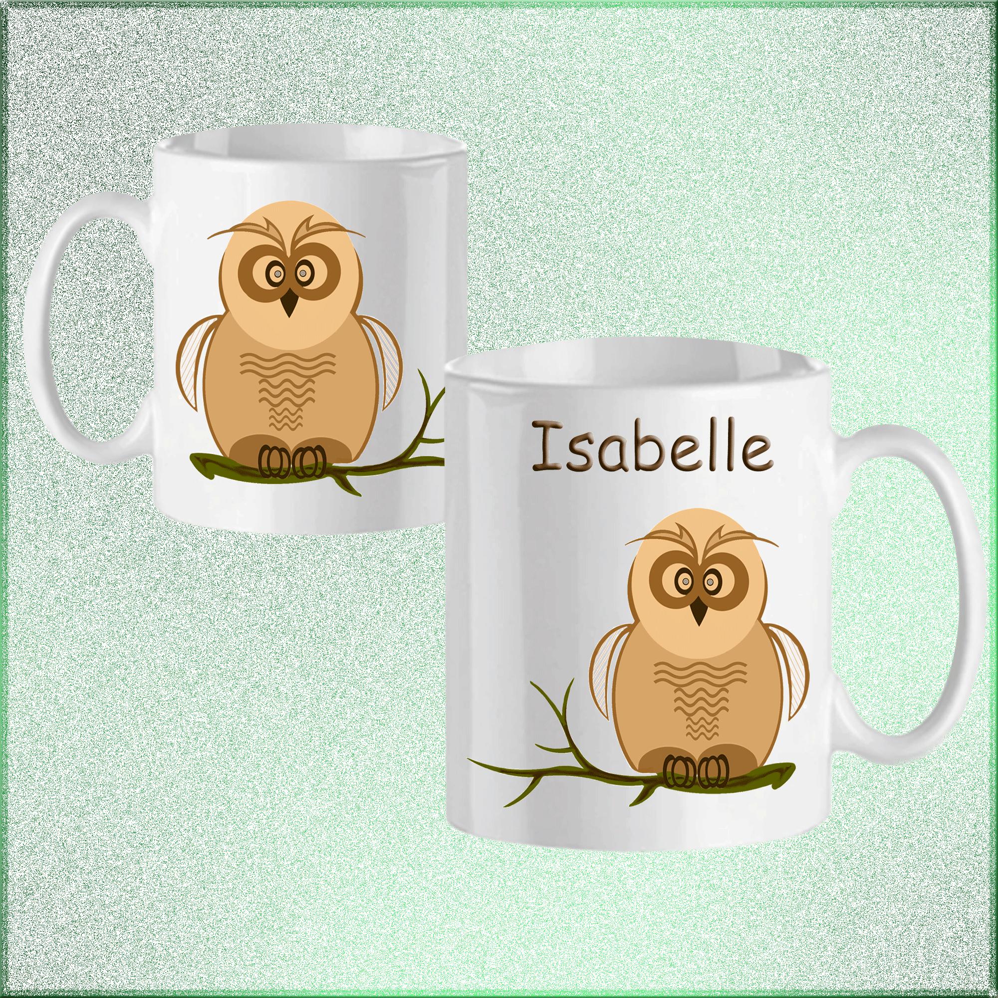 mug-chouette-prenom-personnalisable-personnalisation-personnalise-blanc-ceramique-tasse-animal-oiseau-rapace-nocturne-isabelle