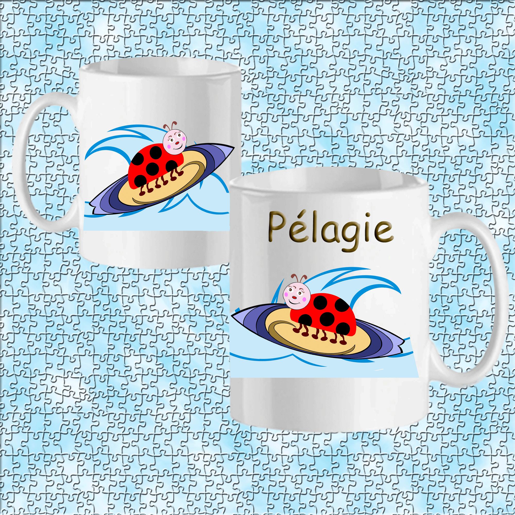 mug-coccinelle-prenom-personnalisable-personnalisation-personnalise-blanc-ceramique-tasse-animal-insecte-sport-surf-bete-a-bondieu-pelagie