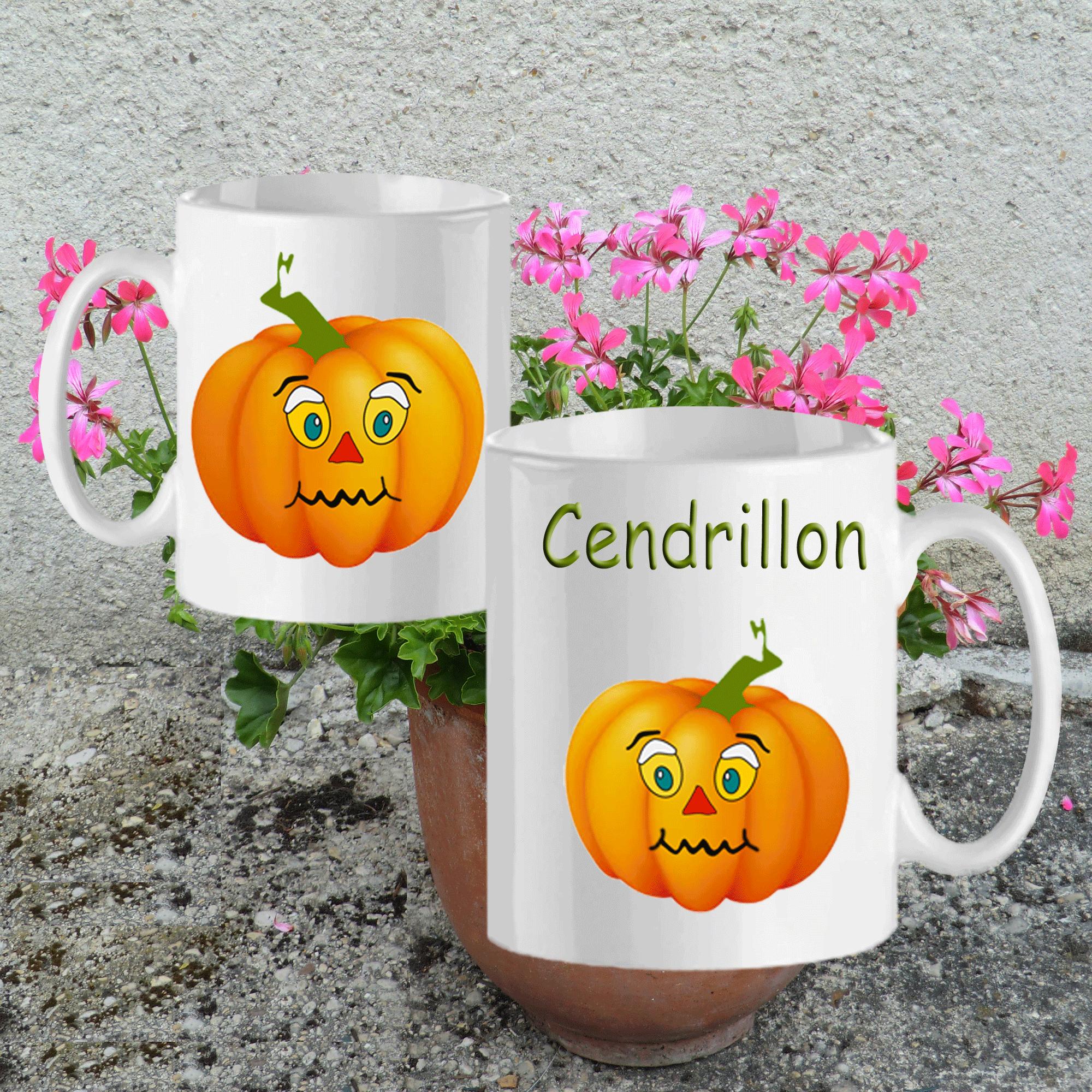 mug-citrouille-potiron-prenom-personnalisable-personnalisation-personnalise-blanc-ceramique-tasse-legende-histoire-conte-fantastique-legume-halloween-cendrillon