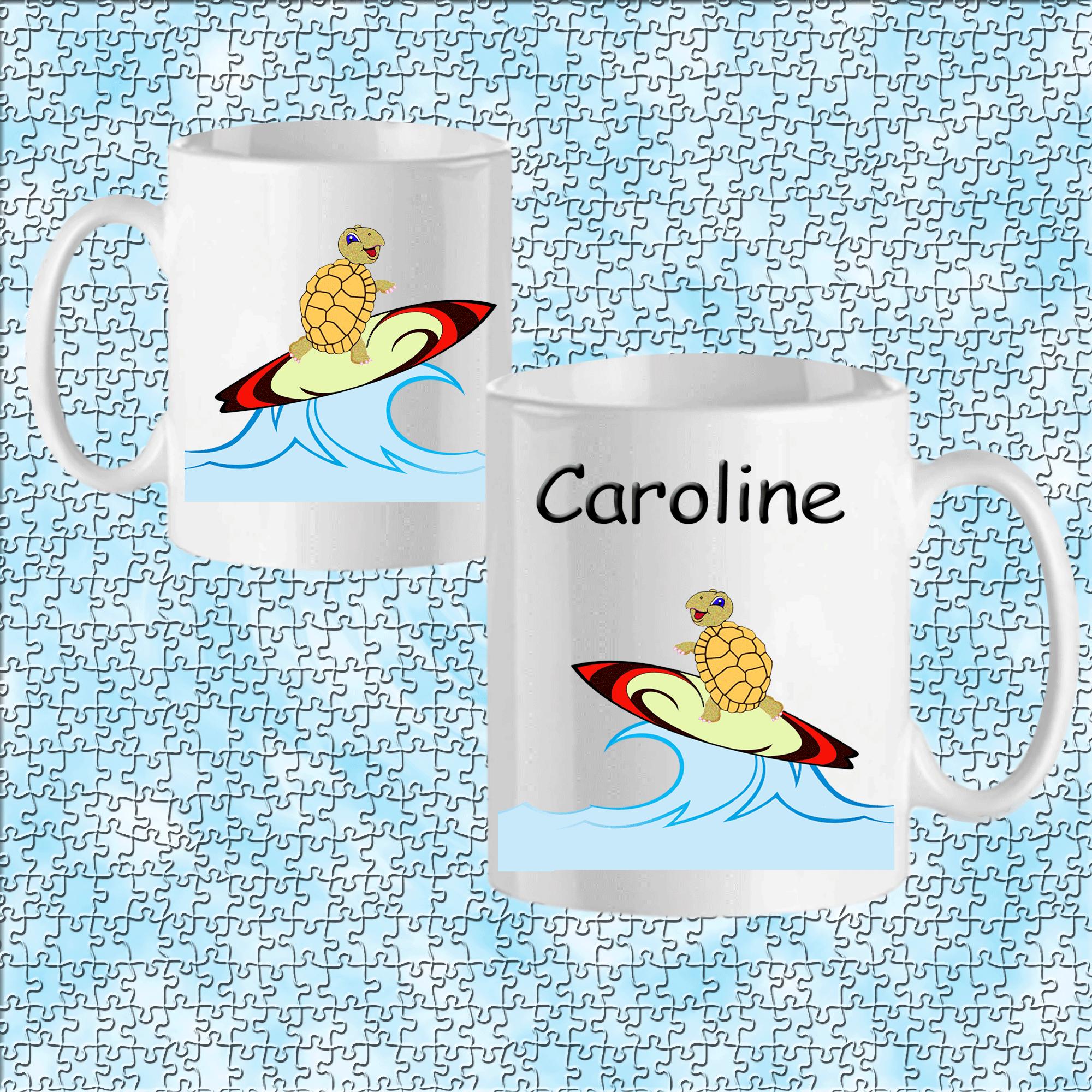 mug-tortue-prenom-personnalisable-personnalisation-personnalise-blanc-ceramique-animal-sport-surf-aquatique-ocean-mer-carapace-caroline