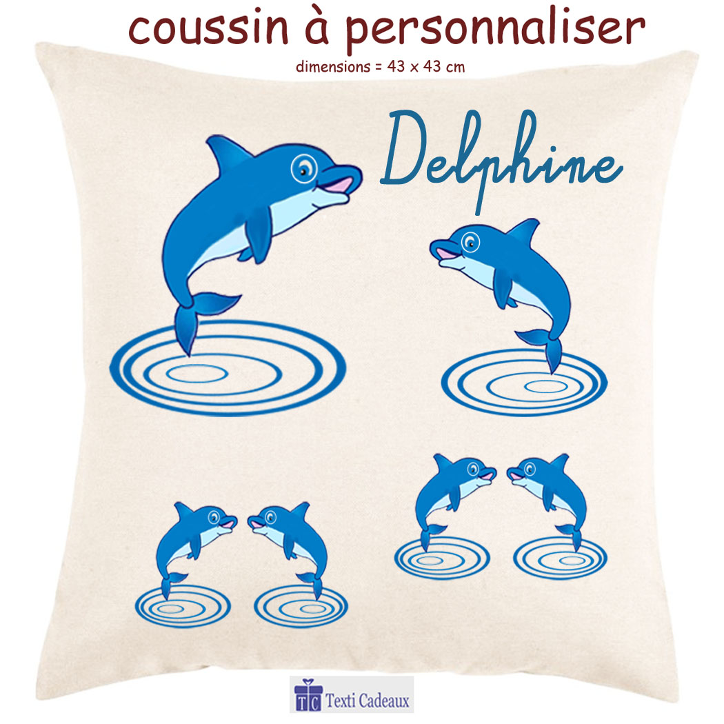 Coussin Dauphin