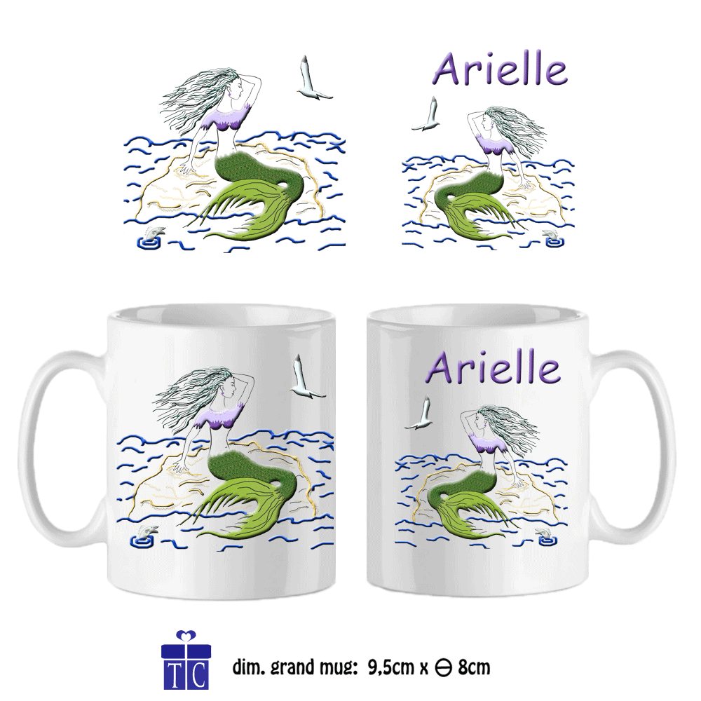 texti-cadeaux-mug-personnalisable-sirene-Arielle-feerique-fantastique-ocean