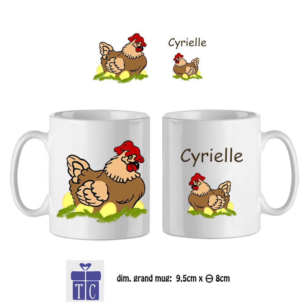 41Mug-texticadeaux-cadeaux-poule-prenom-cyrielle