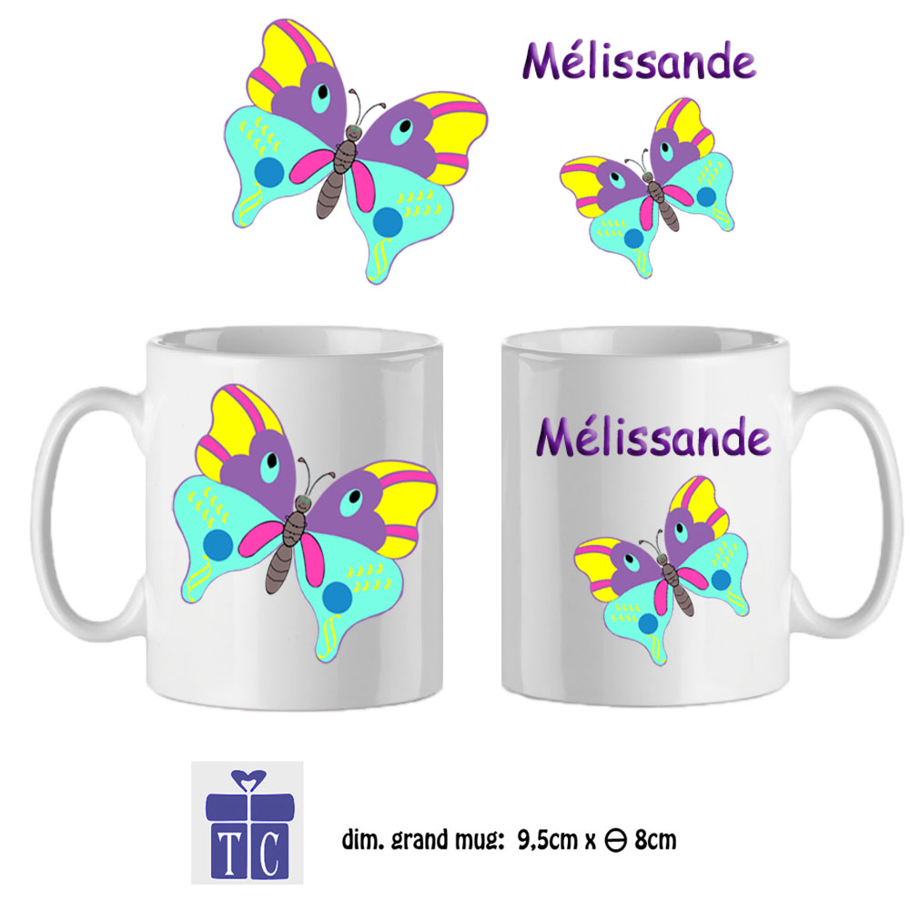 40Mug-texticadeaux-cadeaux-papillon-prenom-mélissandre