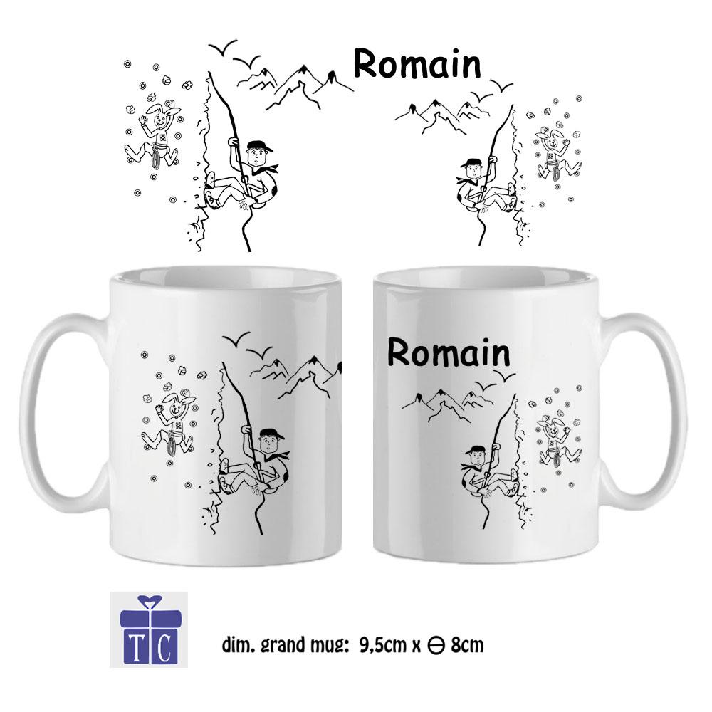 14Mug-texticadeaux-cadeaux-Escalade-prénom-romain