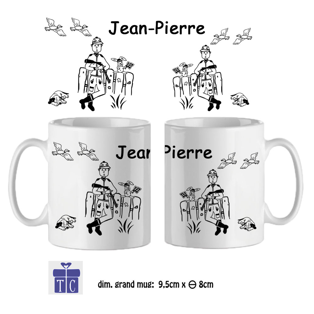 9Mug-texticadeaux-cadeaux-Chasse-prénom-jean-pierre