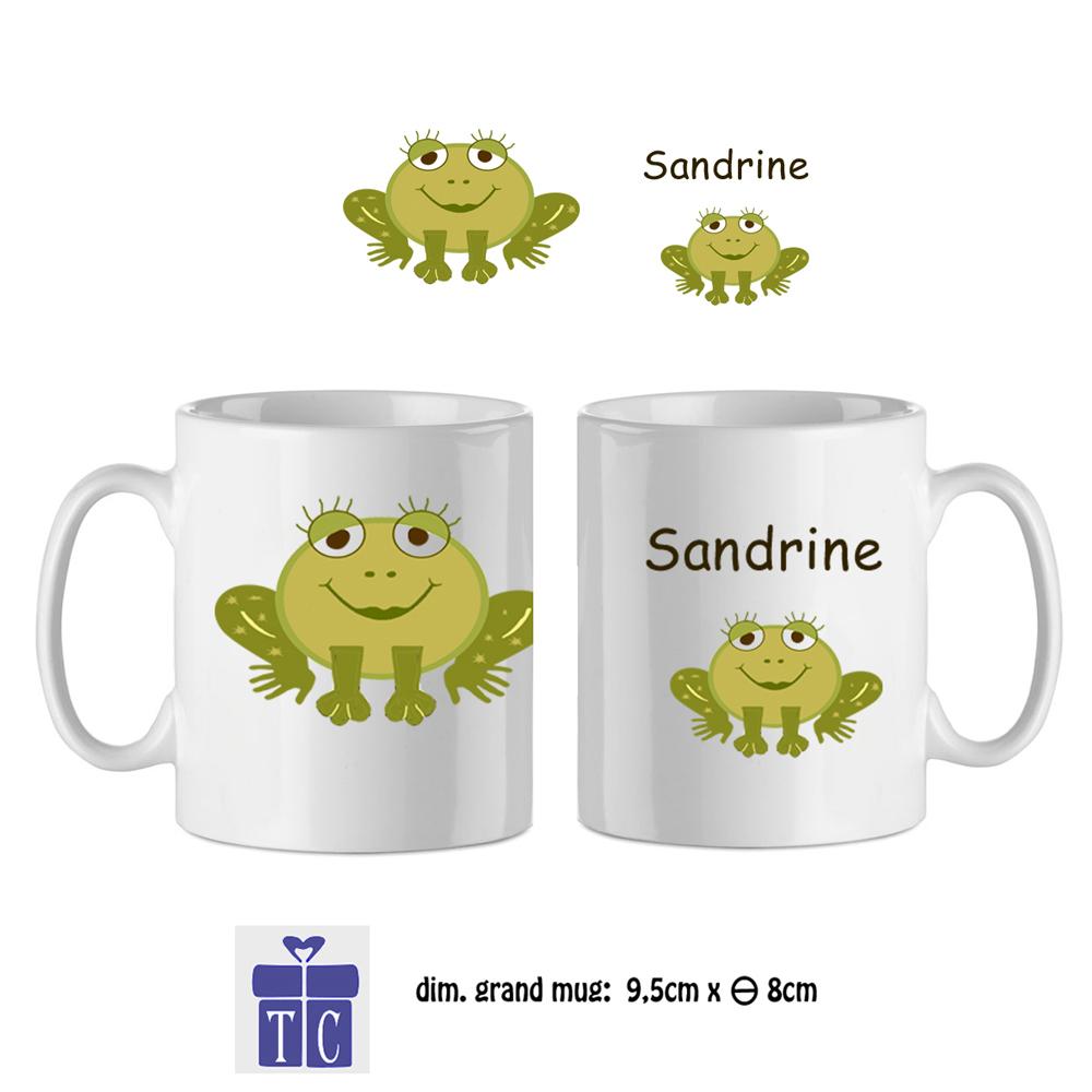 24Mug-texticadeaux-cadeaux-grenouille-prenom-sandrine