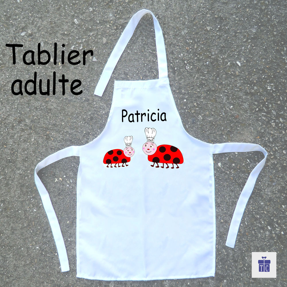 Tablier cuisine adulte Coccinelle