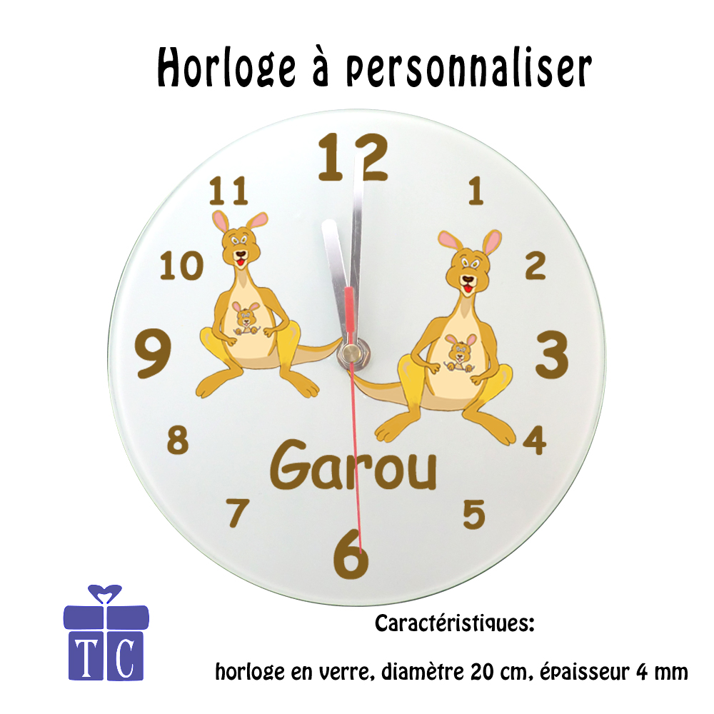 Horloge Kangourou