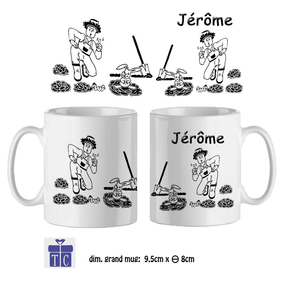Mug jardinier