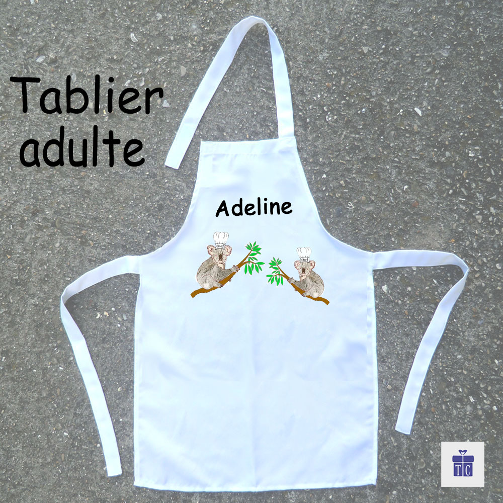 Tablier cuisine adulte Koala