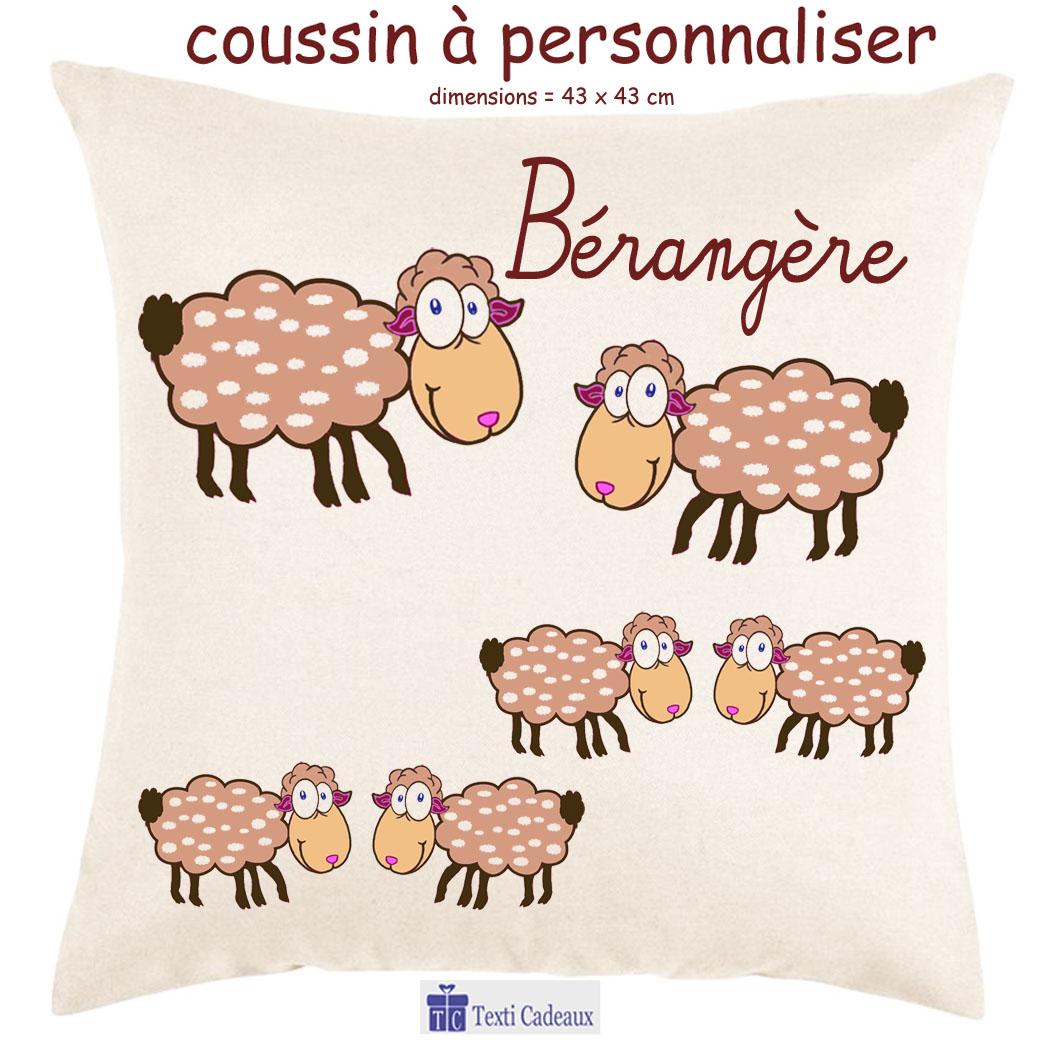 Coussin mouton à personnaliser
