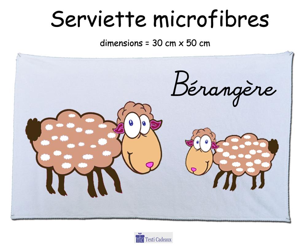 Essuie mains mouton à personnaliser