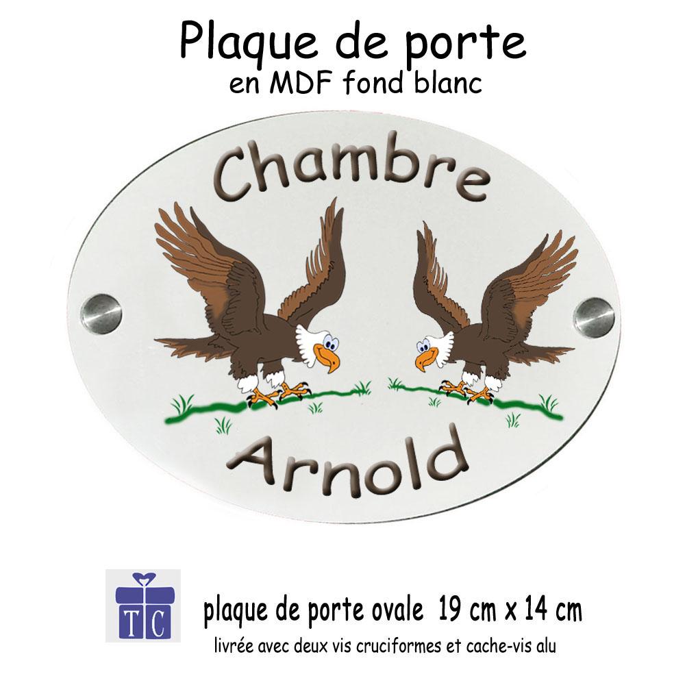 Plaque de porte Aigle