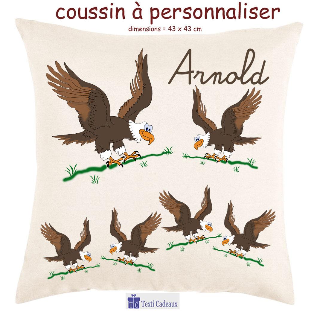 Coussin aigle