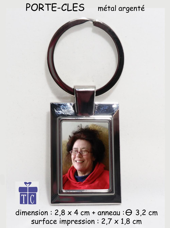 Porte clés photo