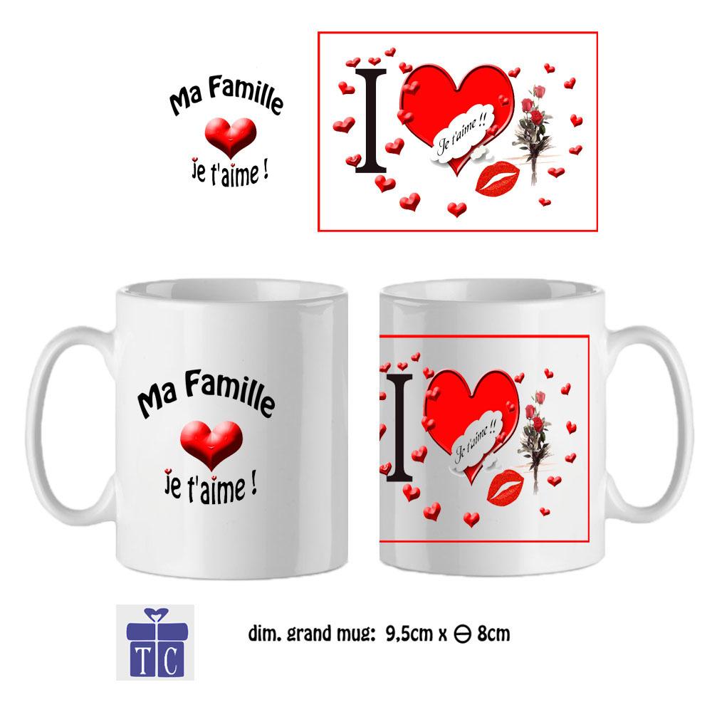 Mug Famille