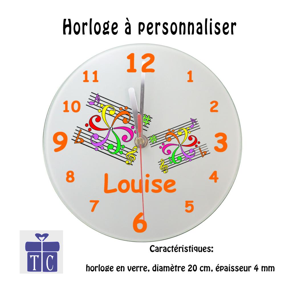Horloge Mandala à personnaliser