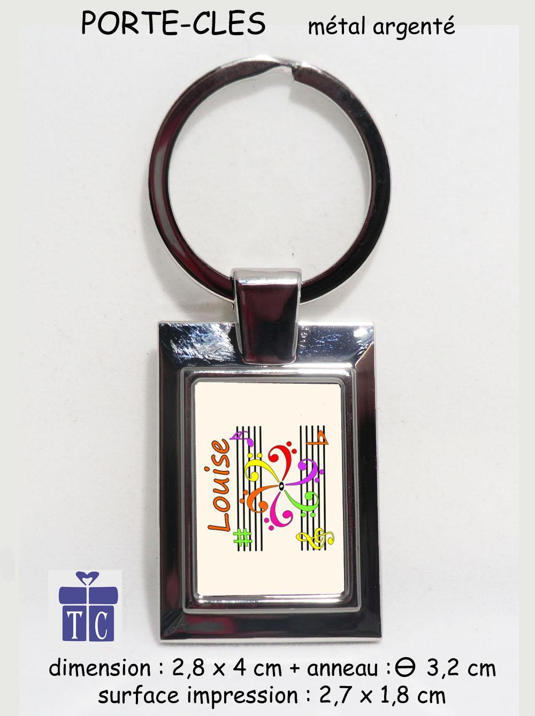 Porte clés mandala à personnaliser