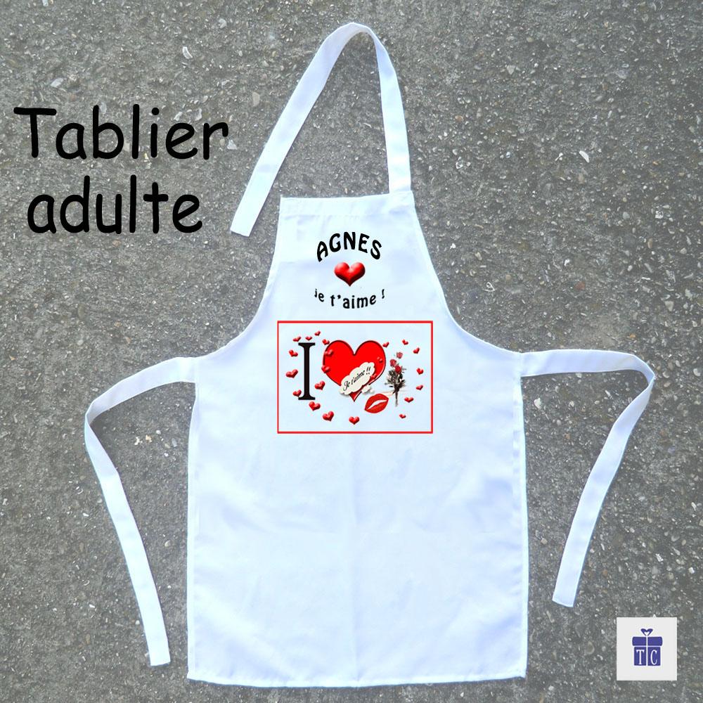 Tablier cuisine maman à personnaliser