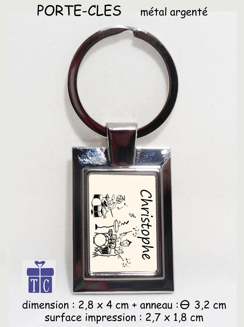 Porte clés Batterie à personnaliser