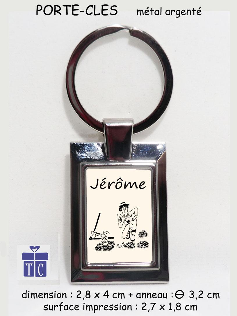 Porte clés Jardinier