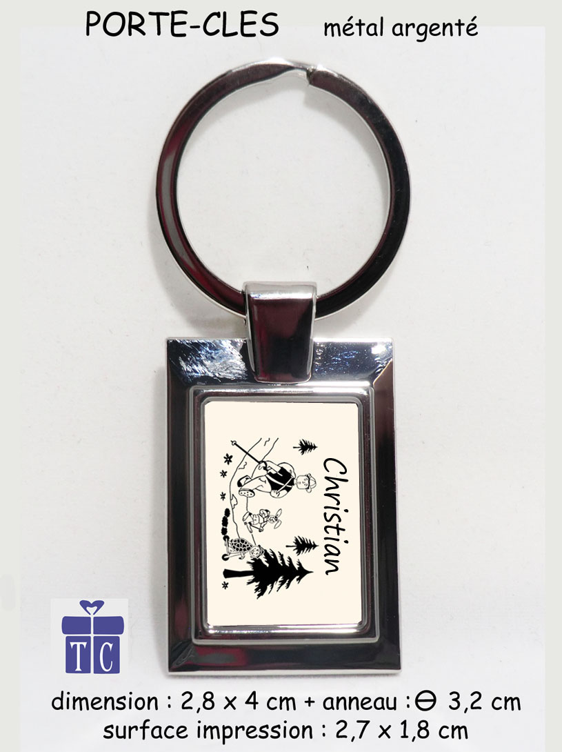 Porte clés Randonneur