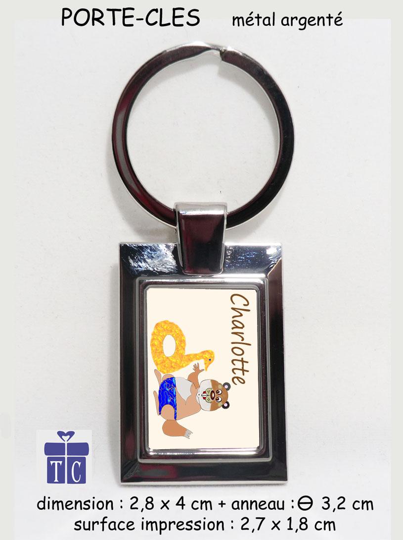 Porte clés marmotte bouée