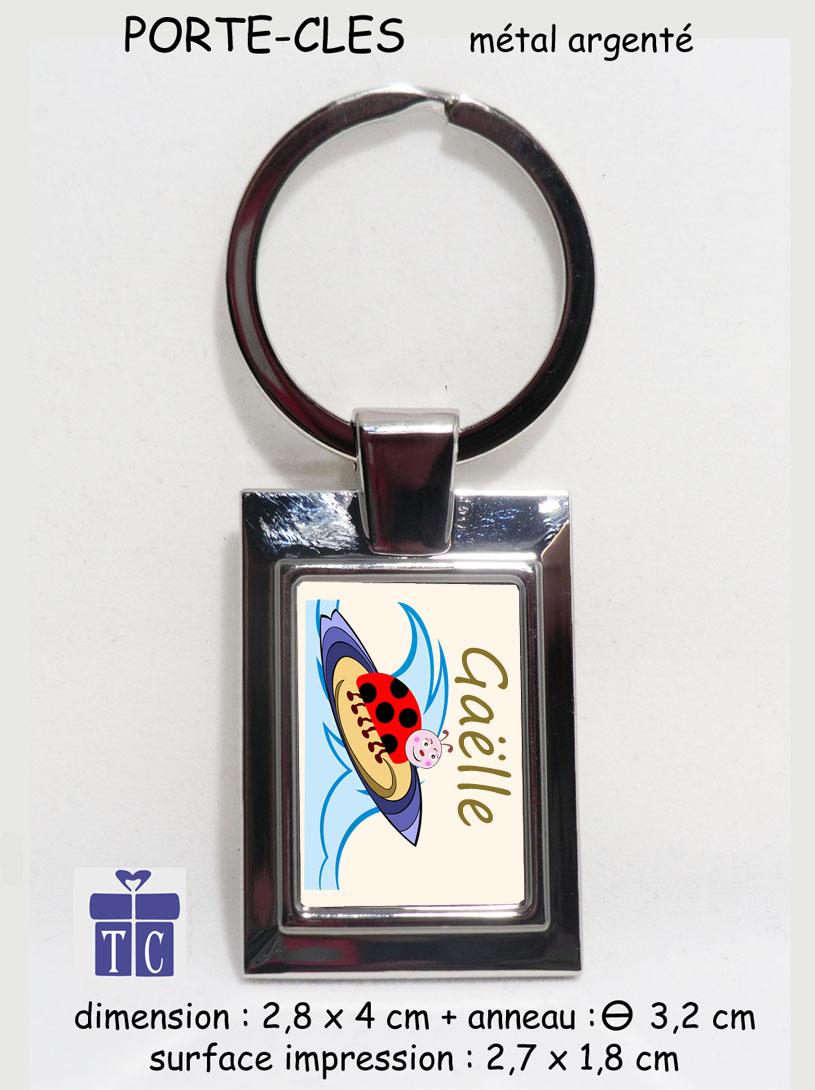 Porte clés coccinelle surf