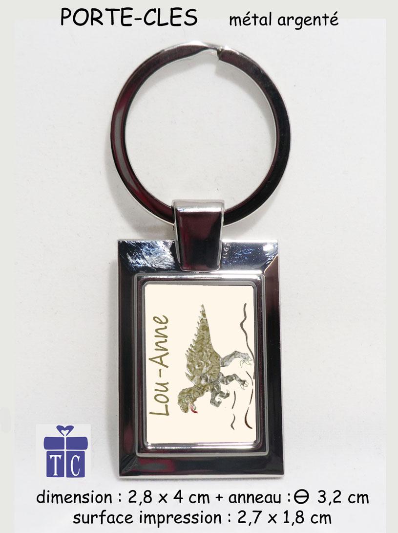 Porte clés dinosaure