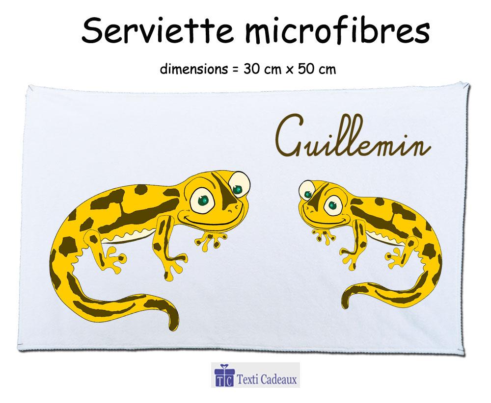 Essuie mains salamandre couleur