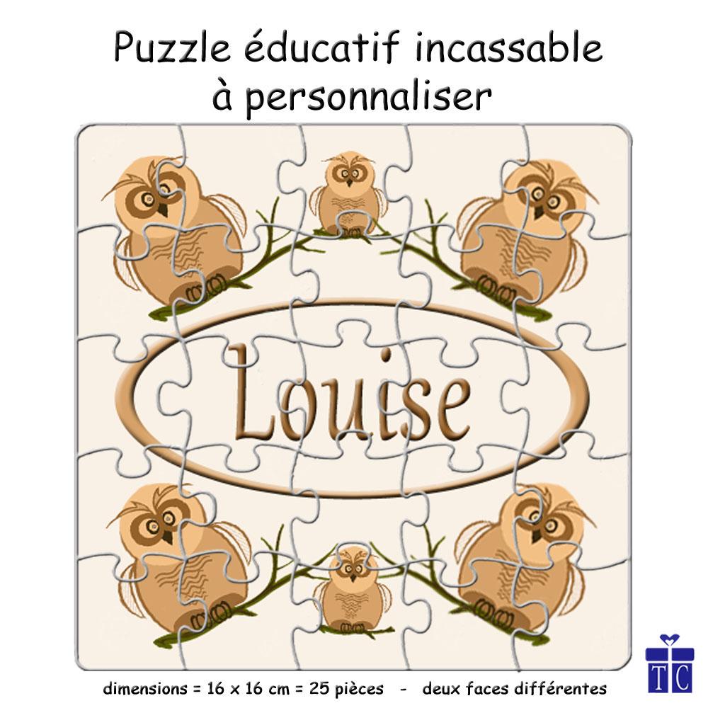 Puzzle Chouette